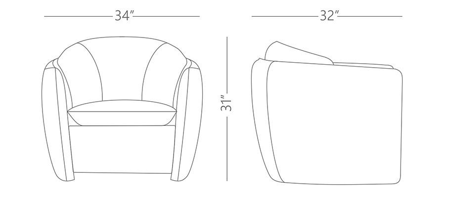 Davis Arm Chairs