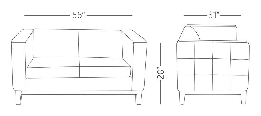 Libra 2 Seater