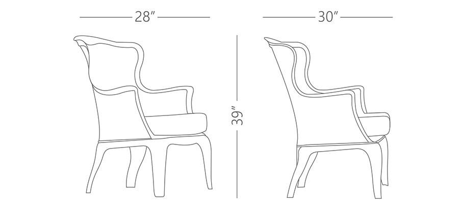 Pasha Arm Chairs