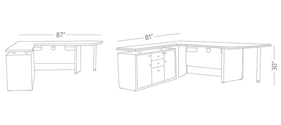 Tavoli Director Desk