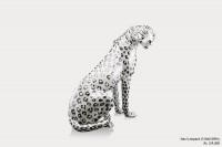 Ceramic Sculpture Maxi Leopard