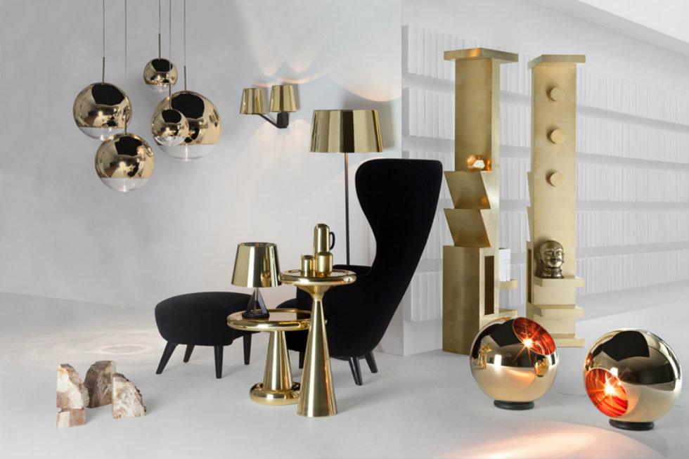 Yellow Metal Home Interior - IDUS Furniture
