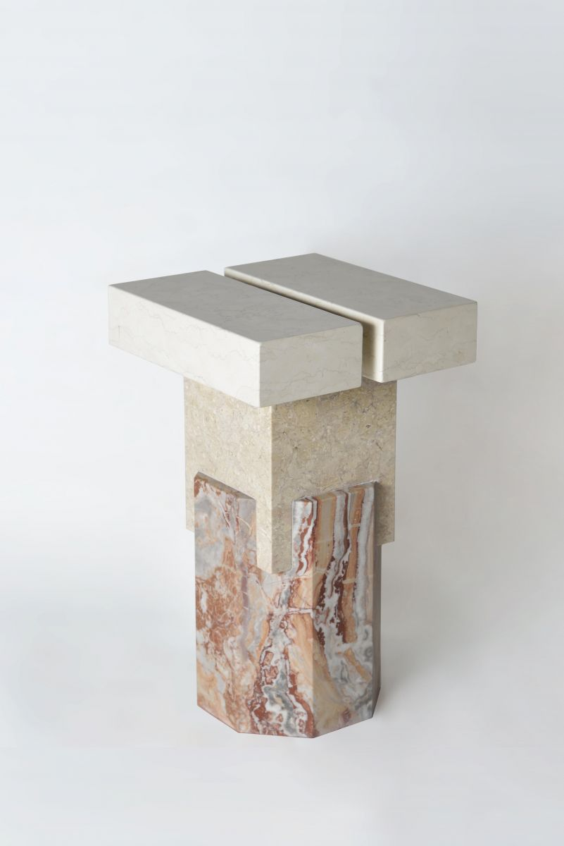 Marble Side Table - IDUS Furniture