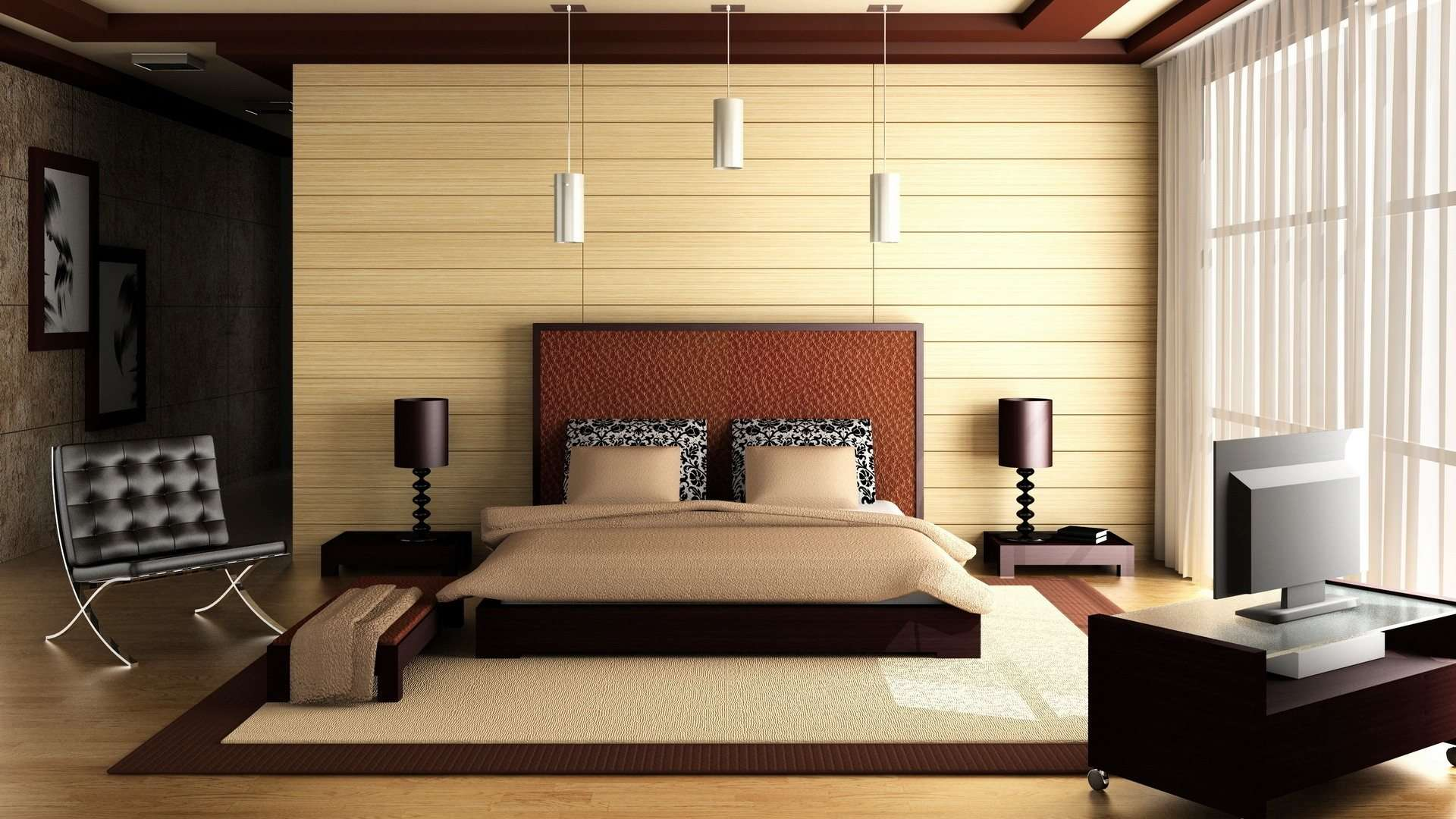 Luxury Bedroom with Double Bed