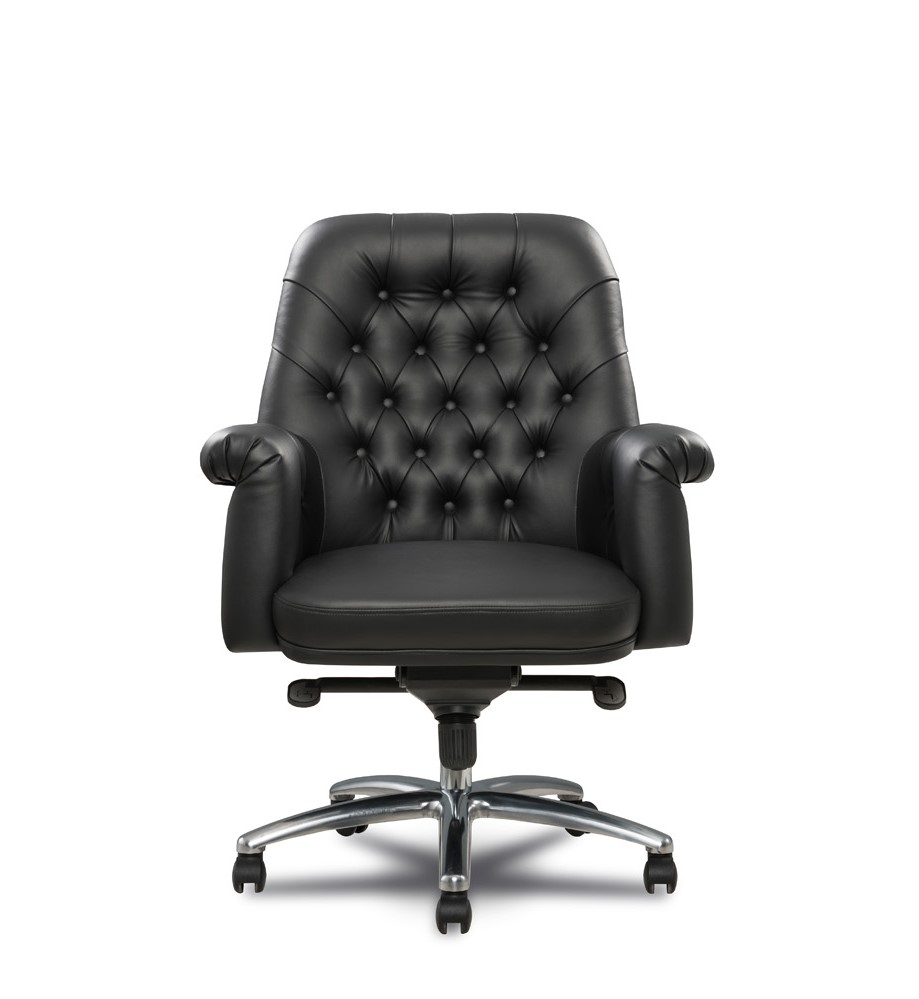 Dacota Medium Back Leather Office Chair