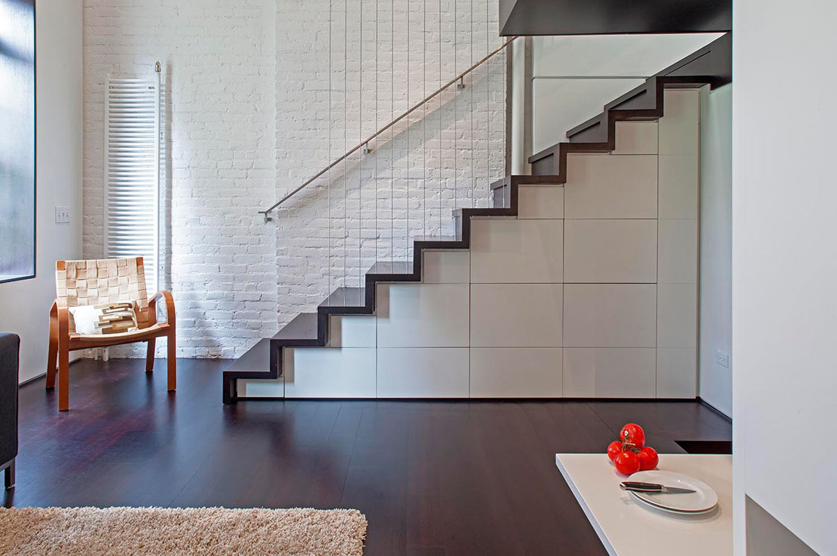 Staircases with Storage