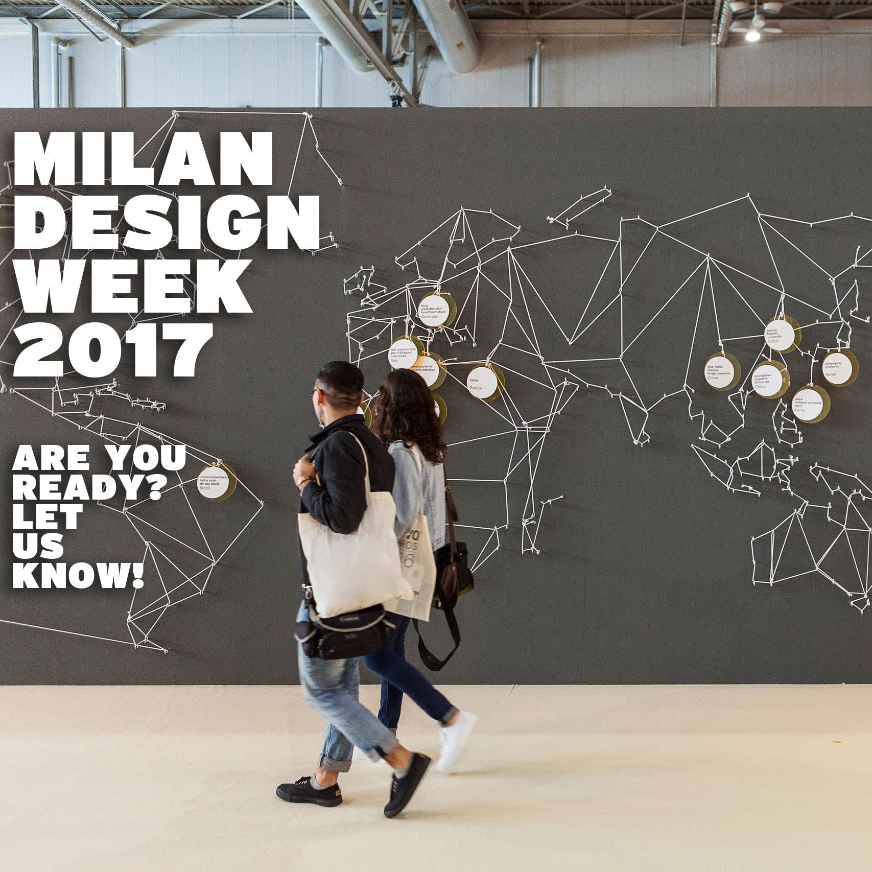 10 highlights from milan design week idus blog. Black Bedroom Furniture Sets. Home Design Ideas