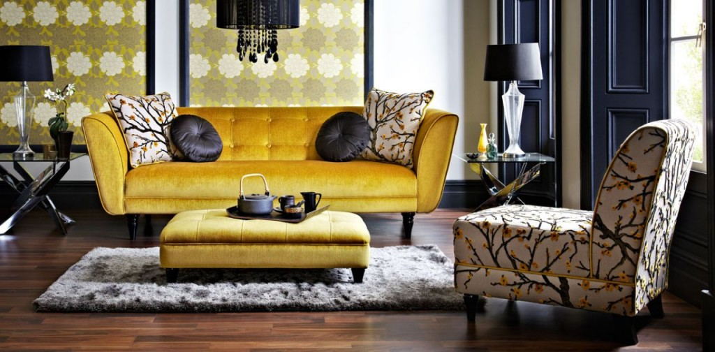 Tufted Fabric Sofa / Couches at Idus Furniture store