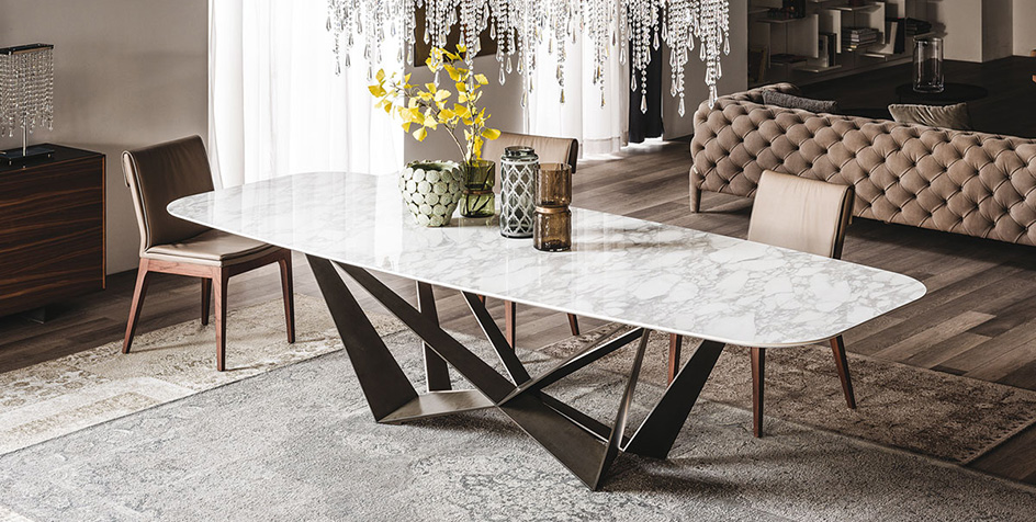 Rectangle Shape Dining Table at IDUS