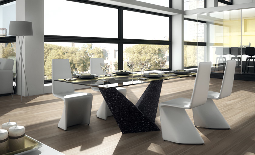 Premium Marble Top Dining Table at Idus