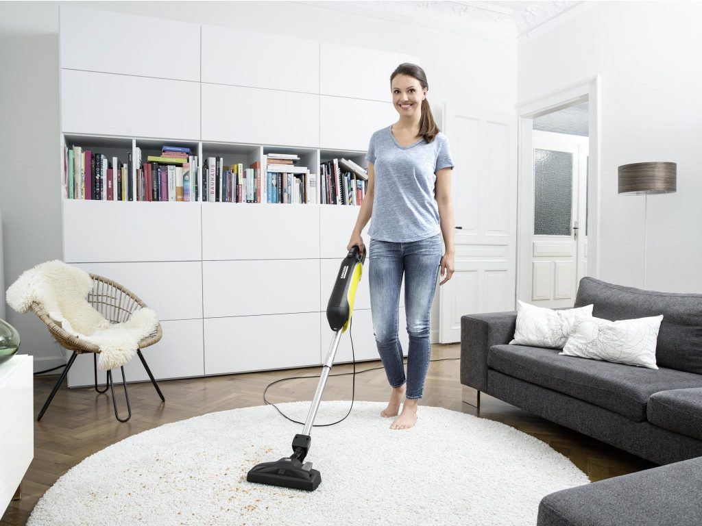 vacuuming and cleaning of home furnitures