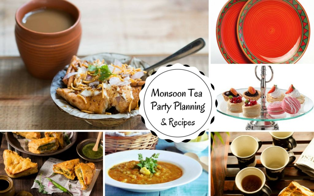 Plan A Monsoon Tea Party and Recipes