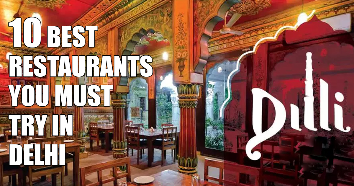 10 Best Café Restaurants in Delhi NCR