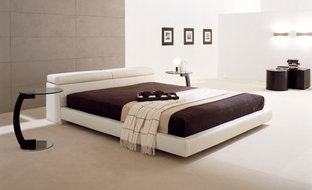 Modern Designer Wooden Furniture Bed by IDUS