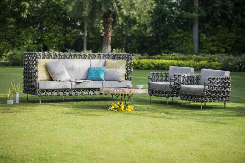 Premium Designer Cabaret 3 Seater Outdoor Sofa at IDUS Furniture Store