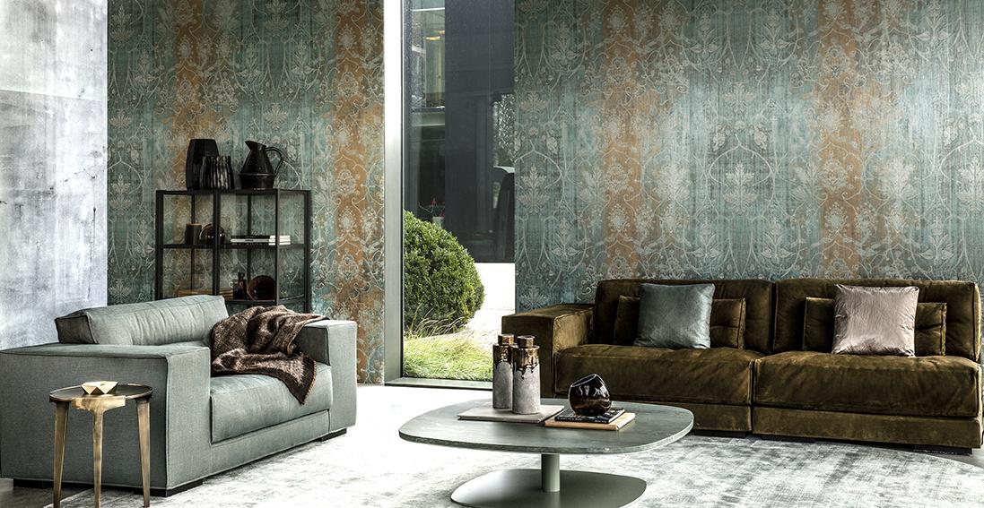 antique finish deisgner living room sofa by idus furniture