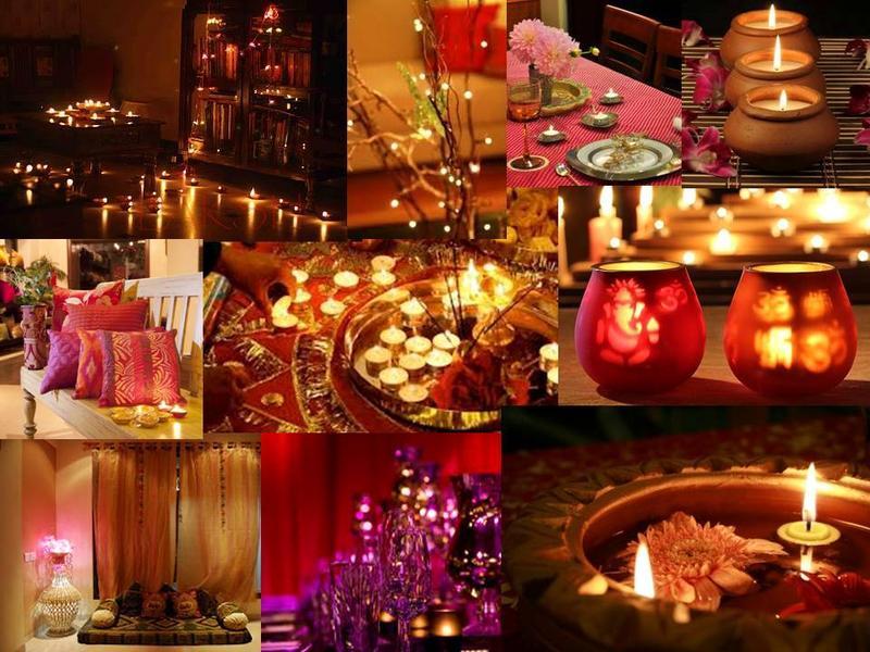 Diya Decoration - IDUS Diwali Lighting