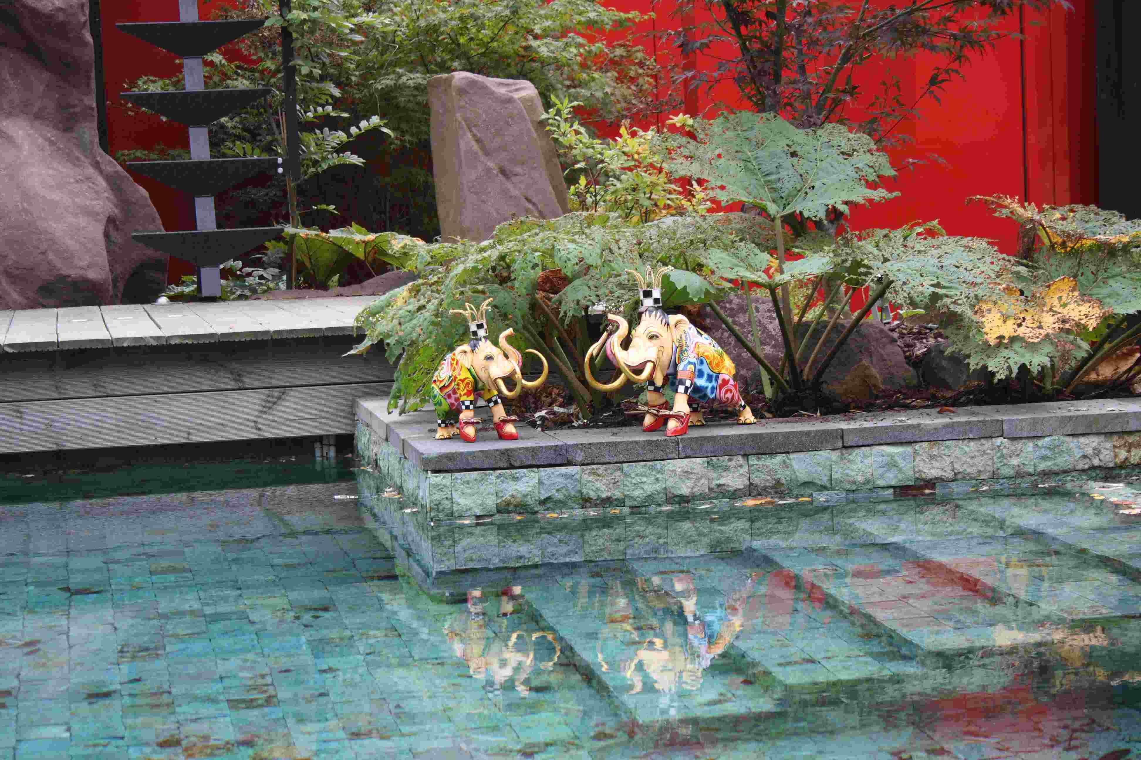 decorative elephant statues for home decoration