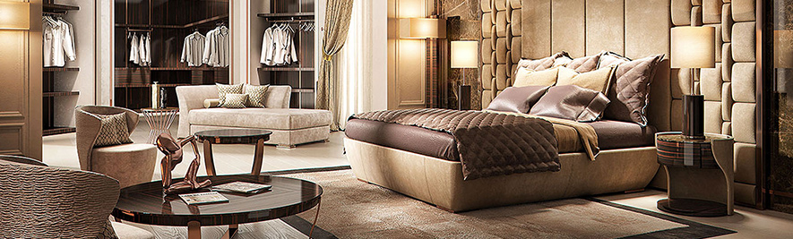 Luxury King Size Beds at IDUS Furniture Store
