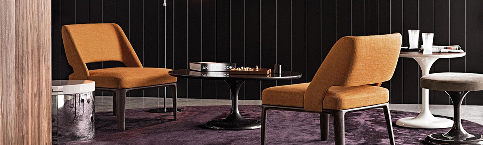 Premium Leather Armchairs at IDUS Furniture Store
