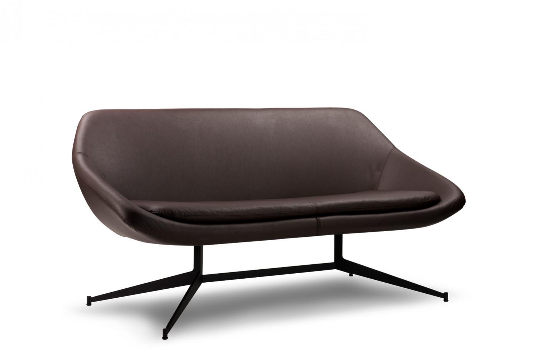 Roge 2 Seater Office Sofa Leather Office Furniture Sofa