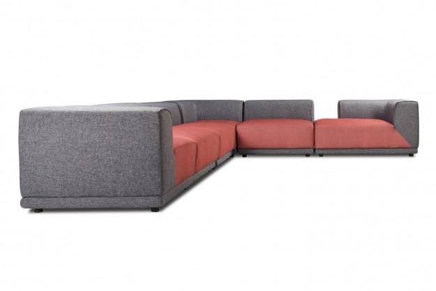 Magnificent Dalton Modular Sofa Inzonedesignstudio Interior Chair Design Inzonedesignstudiocom