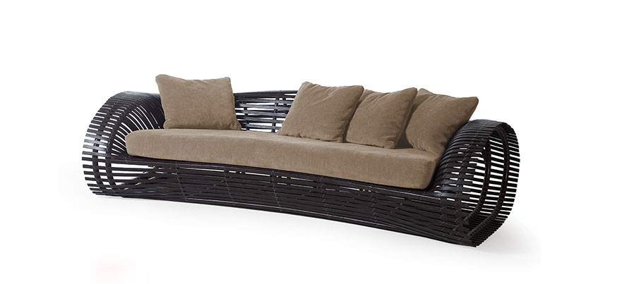 Lolah 3 Seater Outdoor