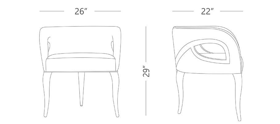 Aura Designer Chair