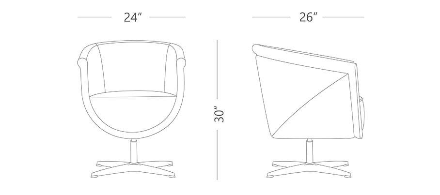 Callas Arm Chair