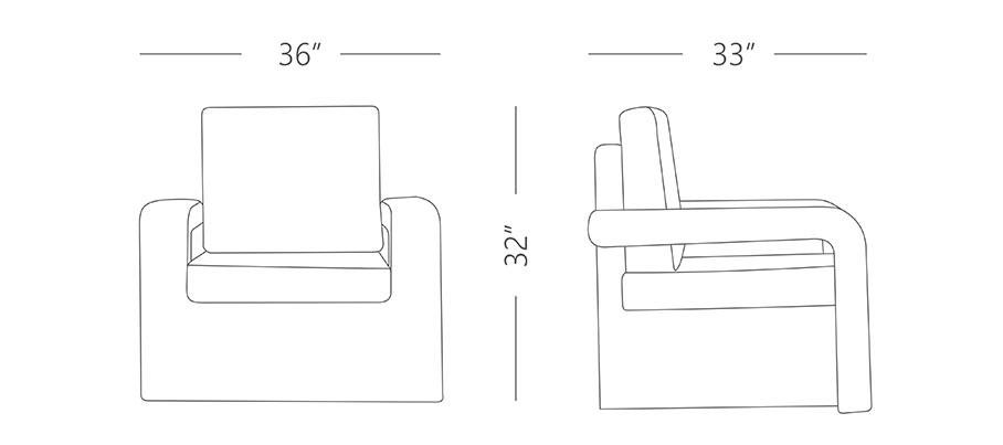 Deck 1 Seater Sofa