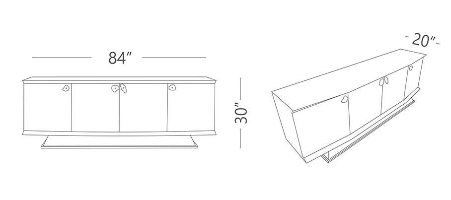 Lapis Sideboard