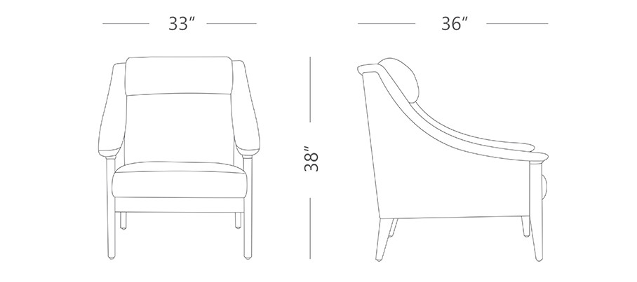 Mint XL Leather Armchair