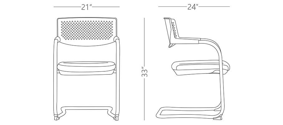 YF328 Arm Chair Modern Furniture