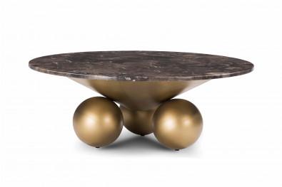 Kemp Marble Designer Center Table