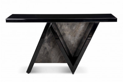 Wavy Glass Console