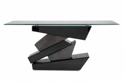 Zigzag designer console