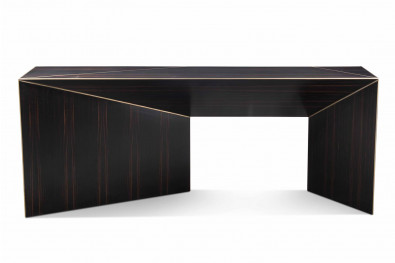 Bevel Wooden Console