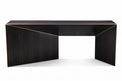Bevel Wooden Console Table