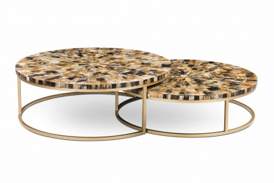 Stag Set of 2 Center Table