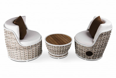 Conic 3 Piece Outdoor Sitting