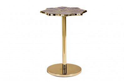 Amethyst  Precious stone side table