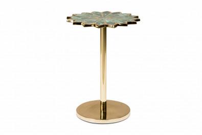 Malachite Precious stone side table