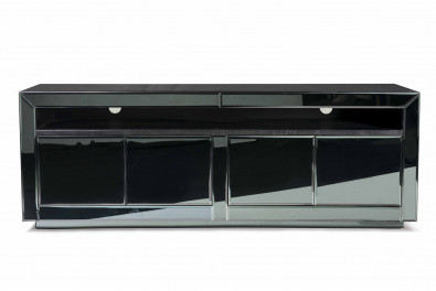 Image Luxury White TV Stand