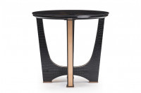 Joval Glass Top Side Table