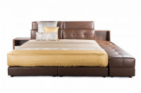 Corium Leather Bed