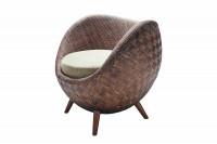 La Luna Rattan Arm Chair