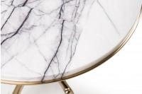 Kayu marble side table
