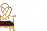Rennie Golden Arm Chair