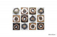 Contemporary Circle Metal Wall Art