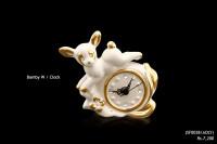 Ceramic Art Bamby Wall Clock